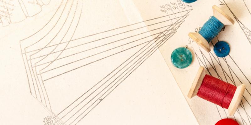 裁縫の設計図