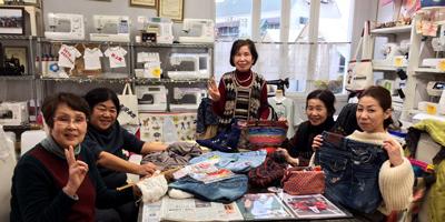 選ばれる理由:繊維の街「児島」で唯一のミシン店