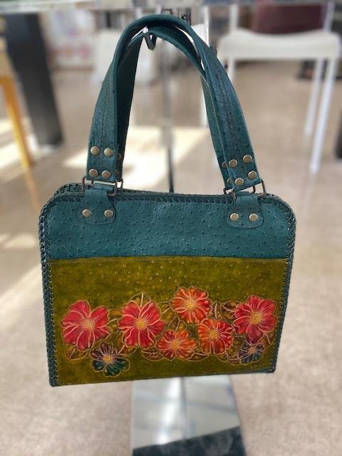 お客様の作品「革のバッグ01」