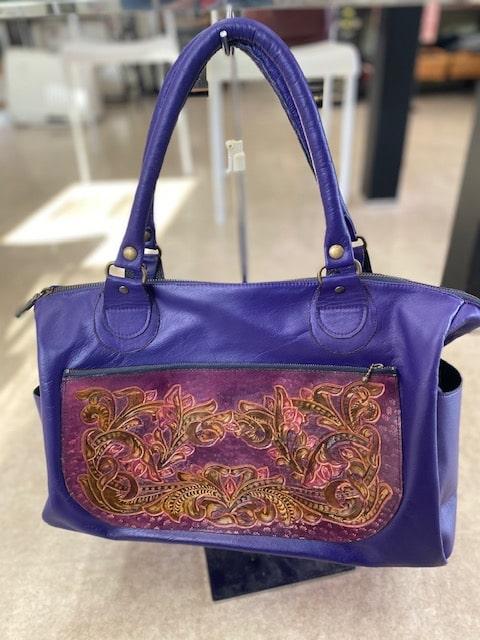お客様の作品「革のバッグ02」