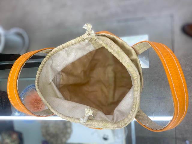 瀬戸ブラザー お客様の作品 弁当箱入れバッグ 開き画像