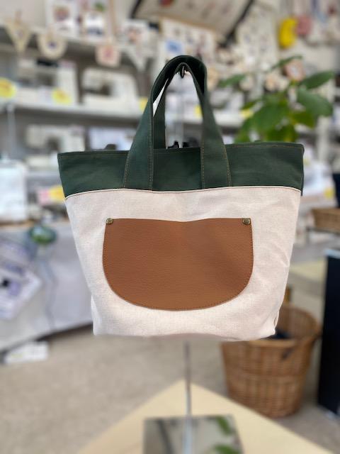 児島本店の作品   バッグ(6号頒布と革のコラボ)